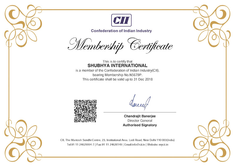 cii-Membership-Certificate